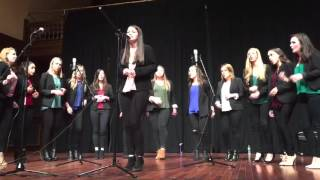 Hide Away (Daya)//Anaclastic (Providence College A Cappella)