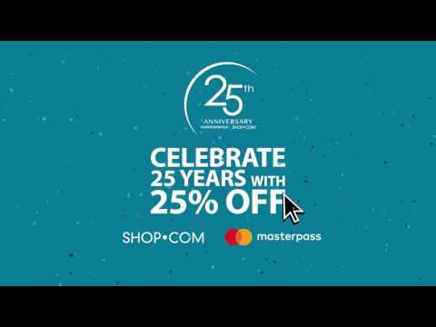 Celebrate 25 Years of Success with SHOP.COM!