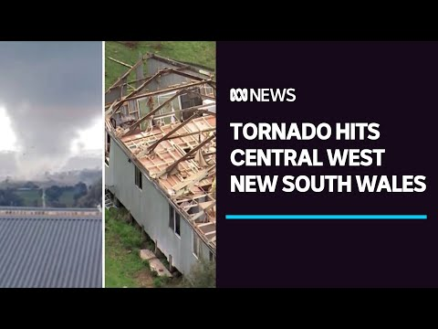 Tornado tears through regional NSW, injuring three people, damaging properties | ABC News