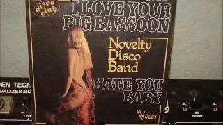 NOVELTY DISCO BAND     I love your big bassoon