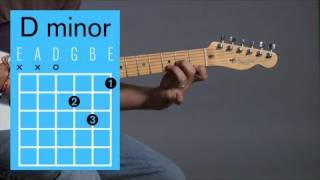 How to Play a D Minor Open Chord | Guitar Lessons