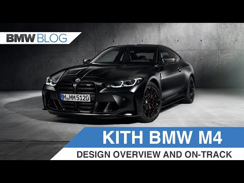 150 units of the BMW M4 Competition x KITH