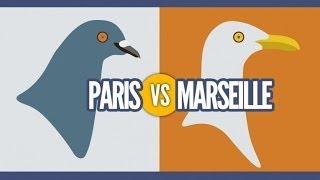 Top des différences entre Paris et Marseille, le grand clash en images