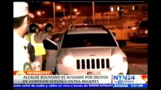 """Se conocen otros videos de """"manoseo"""" ejercido por alcalde boliviano contra funcionarias"""