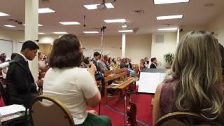 Louvor Lado a lado - Igreja Cristã Maranata Framingham