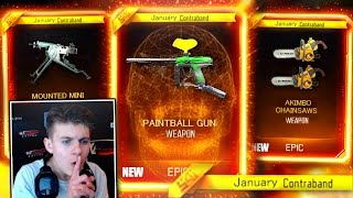 """NEW JANUARY """"DLC WEAPONS"""" IN BLACK OPS 3 COMING SOON? FREE DLC WEAPONS UNLOCK IN CONTRACTS (BO3 DLC)"""
