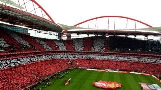 Hino Sport Lisboa Benfica na despedida Eusébio