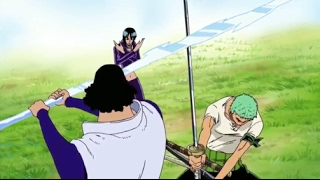 Luffy Zoro And Sanji Try To Protect Robin From Aokiji ! One Piece ENG SUB width=