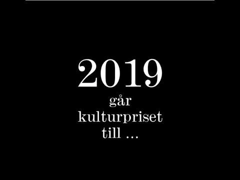 Natur & Kultur kulturpris 2019