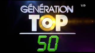 GENERATION TOP 50   sur W9