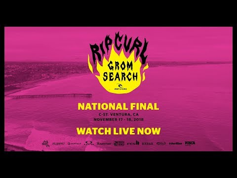 Rip Curl GromSearch National Final 2018