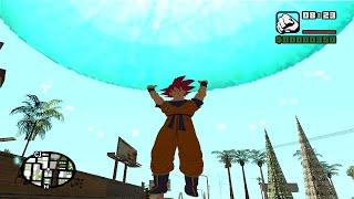 GTA San Andreas Goku Poderes Transformaciones y Super Genkidama 2016