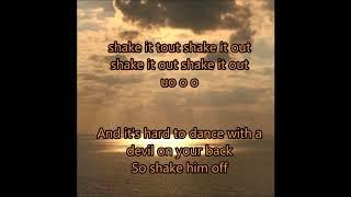 shake it out lower key karaoke