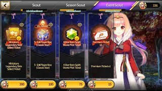 ⌈Soccer Spirits⌋ Fall Space-Time Event Scout + Lucian vs Miri