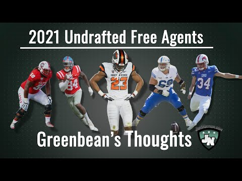 GreenBean's Thoughts on the Undrafted Free Agents