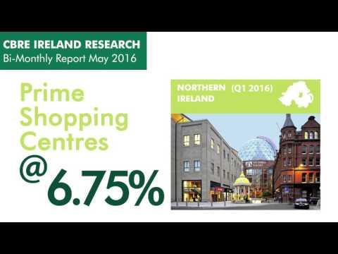 CBRE Northern Ireland Bi Monthly Report May 2016 - Summary Infographic