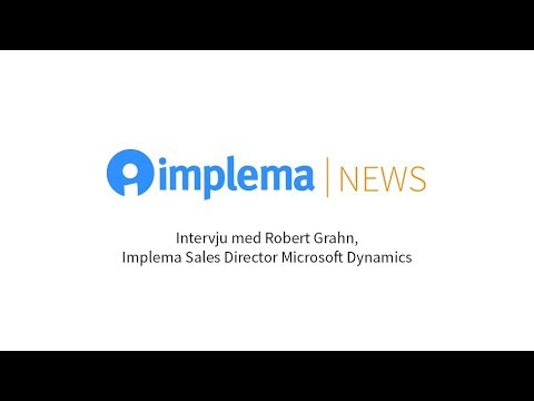 Implema News: Framtidssäkert affärssystem i molnet med Dynamics 365 och Implema