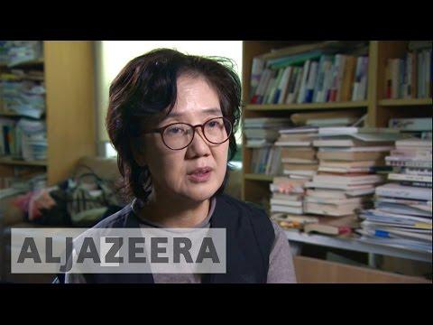 South Korean author accused of defaming 'comfort women'
