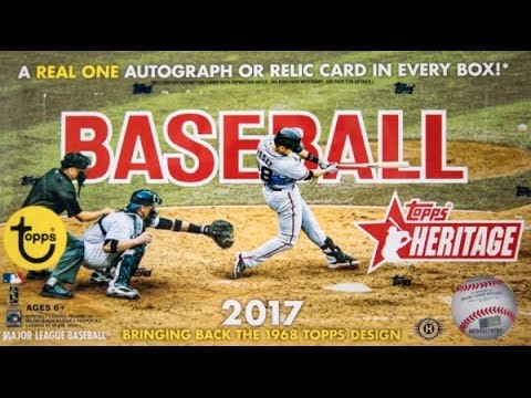 Box Busters: 2017 Topps Heritage Baseball