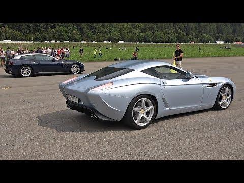 $1.5 Million Ferrari 599 GTZ Nibbio Zagato – Lovely Exhaust Sounds!