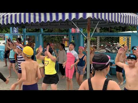 第二次游泳課之阿嬤都比你強的開合跳 - YouTube