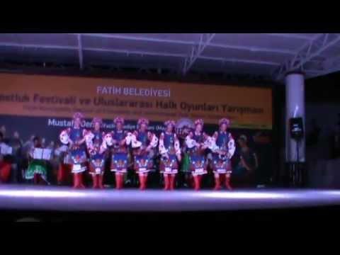 """Folk dance group """"Vesnianka"""" , Ukraine"""