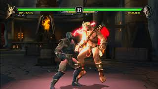 MK VS DC Battle - Shao Khan VS Darkseid