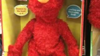 Elmo Says Hello to His Followers