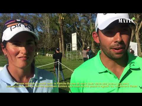 Video : Entretien croisé avec Pablo Larrazabal et Carmen Alonso : «C'est toujours un honneur et un plaisir de jouer dans ces joyaux de parcours»