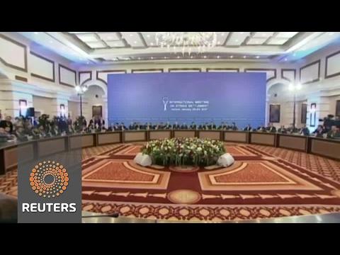 Syrian talks in Astana get underway, ceasefire a key priority