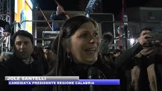 REGIONALI: I PUNTI CARDINE DELLA CANDIDATURA DI JOLE SANTELLI