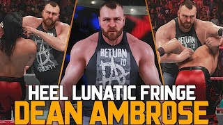 WWE 2K19: The Best Updated Heel Dean Ambrose of the Game!