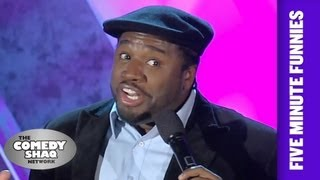 Corey Holcomb⎢If You Have Money You Can Get Women⎢Shaq's Five Minute Funnies⎢Comedy Shaq