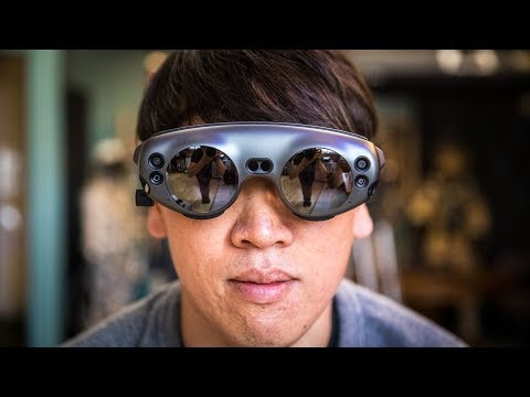 Tested: Magic Leap One Augmented Reality Headset!