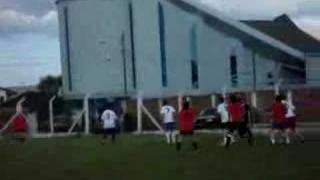 Gol de Luciano Tronca no Atlântida Rock Gol - 12/11/06