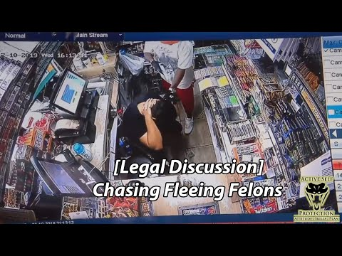 [Legal Discussion] Chasing Fleeing Felons