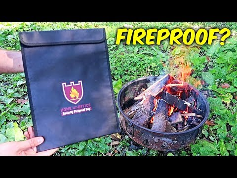 Is Fireproof Money Bag actually Fireproof?
