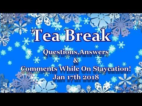 Question& Answers Tea Break