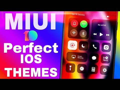Download thumbnail for Perfect No1 ios Theme For MIUI 10