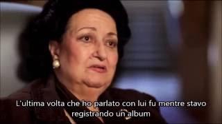 MONTSERRAT CABALLE' - L'ULTIMA VOLTA CHE HO PARLATO CON FREDDIE