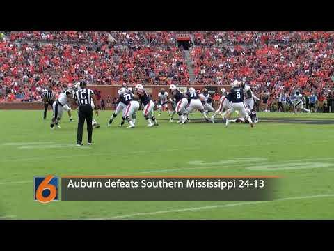Auburn vs. Southern Mississippi Highlights