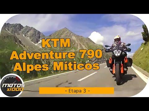 Ruta Alpes Míticos con la KTM Adventure 790 | Etapa 3 | Motosx1000