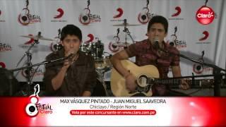 Max Vásquez y Juan Miguel