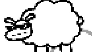 "Beep Beep I'm a Sheep but every ""Beep"" and ""Meow"" causes the video to get more pixelated"