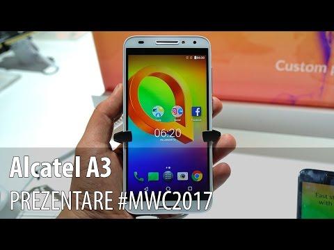 Alcatel A3 - Prezentare hands-on
