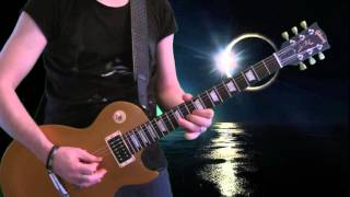 Guns N' Roses - Paradise City (outro solo cover) with Gold Top + Slash Alnico II pickups