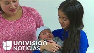 Una niña hispana de 11 años se convierte en heroína al ayudar a su madre a dar a luz a su hermanito