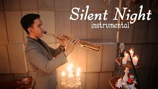 Silent Night (malam kudus) Insturmental - soprano saxophone cover by Desmond Amos