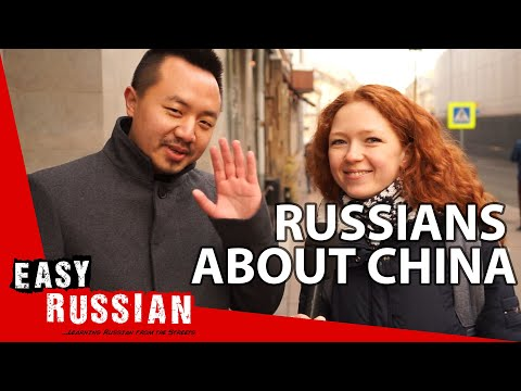 What do Russians know about China?   Easy Russian 56 photo