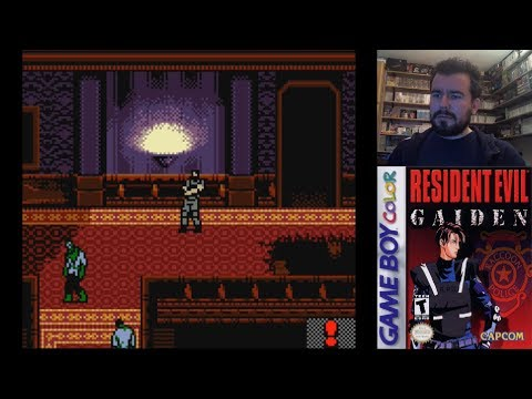 RESIDENT EVIL GAIDEN (Game Boy Color) - Gameplay en Español || Evento Halloween 2019